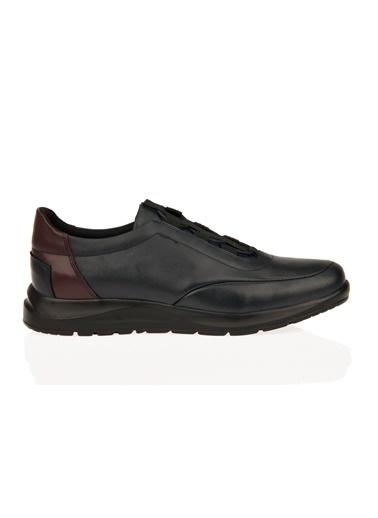 Uniquer Deri Ayakkabı Lacivert